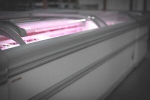 AHT Miami 2.5 Commercial Chest Freezer (LED Lights) Sliding Glass - 07800733055