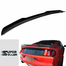 Rear Trunk Spoiler Wing 2015-2017Ford Mustang 6th GT 2D Coupe V-look