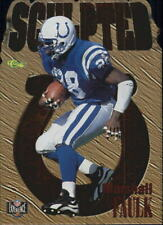 1996 Classic NFL Experience Sculpted #S10 Marshall Faulk - NM-MT