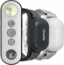 New listing Patpet 680 Dog Training Collars, 3000' Remote, Rechargeable, Waterproof (2 Dog)