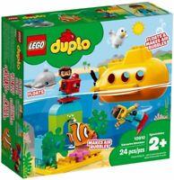LEGO Duplo: Submarine Adventure (10910) Building Kit 24 Pcs