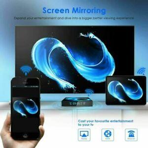 2021 T95 Android 10.0 TV Box Quad Core 4GB + 64GB HD Media Player WIFI HDMI UK