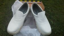 WARNIN white safety crocs. Size7.5UK. Brand new boxed health care chef camping
