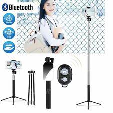 Mini Bluetooth Selfie Stick mit Handy Stativ Selfie Halter Stange für Smartphone