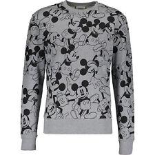 Genuine ICEBERG Grey Mickey Mouse Sweatshirt Sweater XL 100% cotton