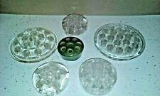 Vintage glass pottery Flower Frog lot