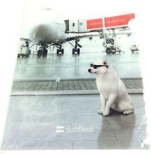 "Japan Import NEW ""OTOSAN"" SoftBank's Famous Shiba Dog Mascot A4 CLEAR FILE"