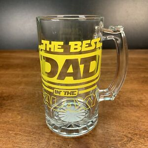 Best Dad In The Galaxy Beer Big Mug Father's Day Present