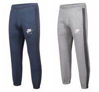 Nike Air Mens Jogging Bottoms Tracksuit Fleece Joggers Sweatpants Navy Grey