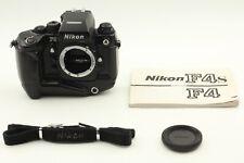 【N.MINT】 Nikon F4s 35mm SLR Film Camera Body MB-21 Mother drive From JAPAN #281
