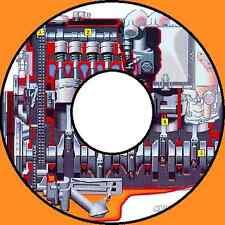 ISUZU DIESEL and PETROL ENGINE MANUALS CDROM 6VD1 6VE1 4HK1 4JA1 PLUS MORE