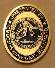 Naval Computer and Telecommunications Station Far East Navy Challenge Coin