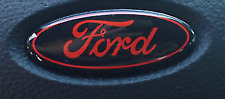 Ford Steering Wheel DOMED Emblem Oval OVERLAY Vinyl Decal Sticker
