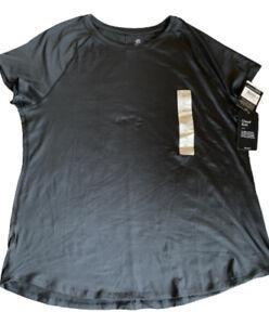 NWT C9 by Champion Cloud Knit Crew Neck T Shirt Black Sz. XL Free Shipping