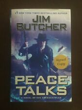 Peace Talks by Jim Butcher, SIGNED, 1st Printing, 1st Edition Hardcover