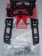 SunTour Superbe Pro Mint Vintage Track Pedal Cages- NEW / NOS- NIB++