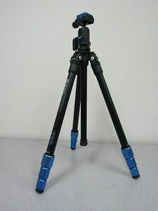 Benro TSL08AN00 Slim Aluminum-Alloy Tripod - Max Load 8.8 lb / 4 kg (a)
