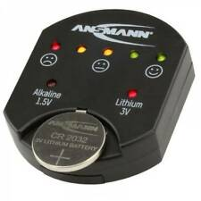 Ansmann Tester Battery Tester Suitable for all Button Cell