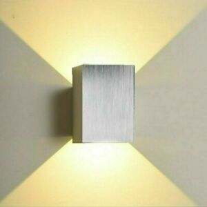Modern LED Wandleuchte Außen Wand-Lampe Gartenleuchte Balkon Tür Licht up down