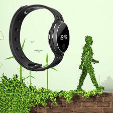 Bluetooth Activité bracelet montre Smart Watch LED G Sensor sommeil Tracker