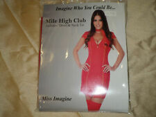 """Ladies Fancy Dress Mile High Club by """"Miss Imagine"""" Sizes 8 - 22  NEW IN PACKET"""