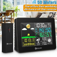 Digoo LCD Wireless Weather Station Indoor Outdoor °C/°F USB Digital Alarm Clock