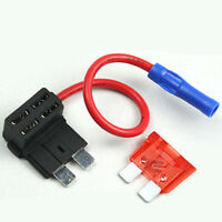 Car Add-a-circuit Fuse TAP Adapter Standard ATO ATC Auto Blade Fuse Holder 10AMP