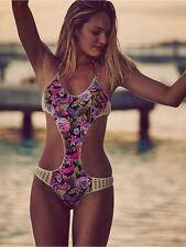 Victoria's Secret FLORAL SURF CROCHET MONOKINI S US