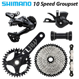 SHIMANO Deore M4100 1x10 Speed MTB Groupset 170MM/175MM 11-50/52t OE 10s group