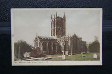 Ilminster St Mary's Church, N.E. View - Vintage RP Postcard -Somerset- Unposted.
