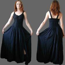Miederkleid schwarz Mittelalter Mieder Gothic Kleid Mittelalterkleid Larp, S-XXL