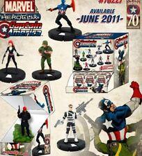 Heroclix Captain America 3 Figure Gravity Feed Lot 205 Black Widow 206 Sin 209