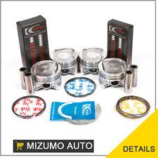 Fit Pistons Main Rod Bearings - Honda 1.6 D16Y 5/7/8  HX, CX, DX, LX, EX, S, Si
