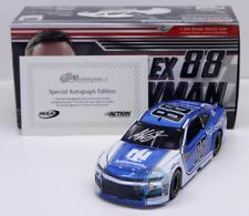 SIGNED NASCAR 2018 ALEX BOWMAN  #88 NATIONWIDE INSURANCE AUTOGRAPHED 1/24 CAR