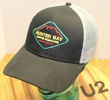 NWOT HUNTER BAY COFFEE ROASTERS HAT BLACK/GRAY SNAPBACK ADJUSTABLE U2