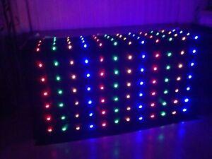 Starcloth lights multi colour, star cloth disco Dj led light sensory aid
