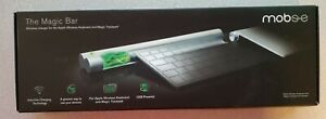 Mobee Technology Magic Bar Inductive Charger Apple Bluetooth Wireless Keyboard