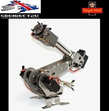 À faire soi-même 6DOF aluminium Robot Arm 6 Axis Rotation mécanique Bras Robot Kit new 2017 UK
