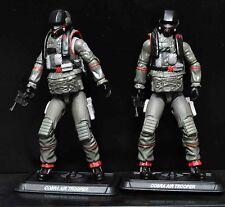 "Lot Of 2 Gi Joe Cobra Air Trooper 30th Anniversary Action Figure 3.75"" #Fe3"