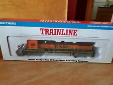 WALTHERS # 931-184 BURLINGTON--SANTA FE GE DASH LOCOMOTIVE # 8623~HO New In Box