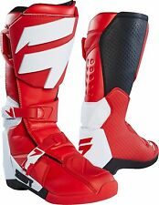 Brand New Shift MX 2018 White Label Motocross Boots Red - Men's Size 10