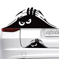 Auto SUV Rear Windshield Decorative Angry Peeking Monster Sticker Car Accessory