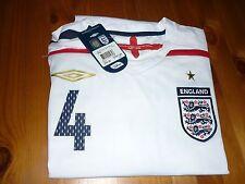Inglaterra Camiseta De Fútbol N * 4 Gerrard Tamaño X-Large BNWT