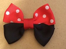 Minnie Mouse Style Hair Clips  - Toddler / Girl