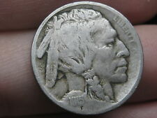 1915 P Buffalo Nickel 5 Cent Piece- VF Details