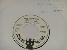 "The Ponte di Brooklyn-free as the wind - 7"" 45 Buddah PROMO archivio MINT"