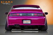 Nissan 200SX Silvia S14 S14a Rocket Bunny Style CARBON FIBER Spoiler DuckTail v6