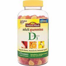 Nature Made Vitamin D3  Adult Gummies - 275 Gummies