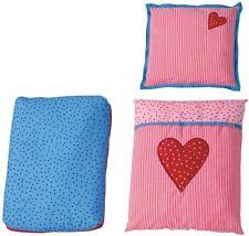 Haba Bettwäsche Kissen für Puppenwagen Herzen NEU