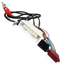 Aerzetix Adaptateur faisceau Câble Fiche ISO USB RCA autoradio C40122